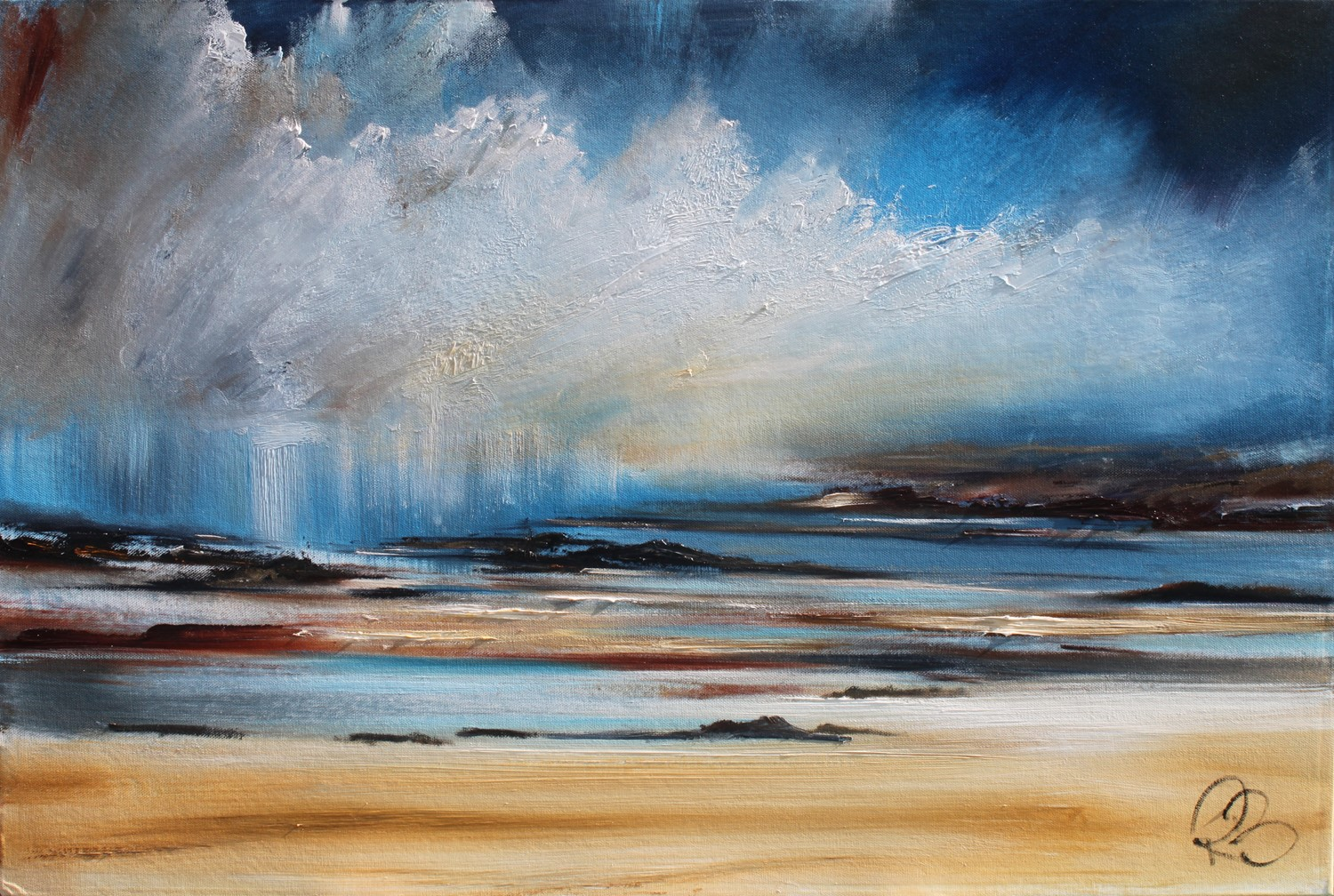 'The Gathering Storm ' by artist Rosanne Barr