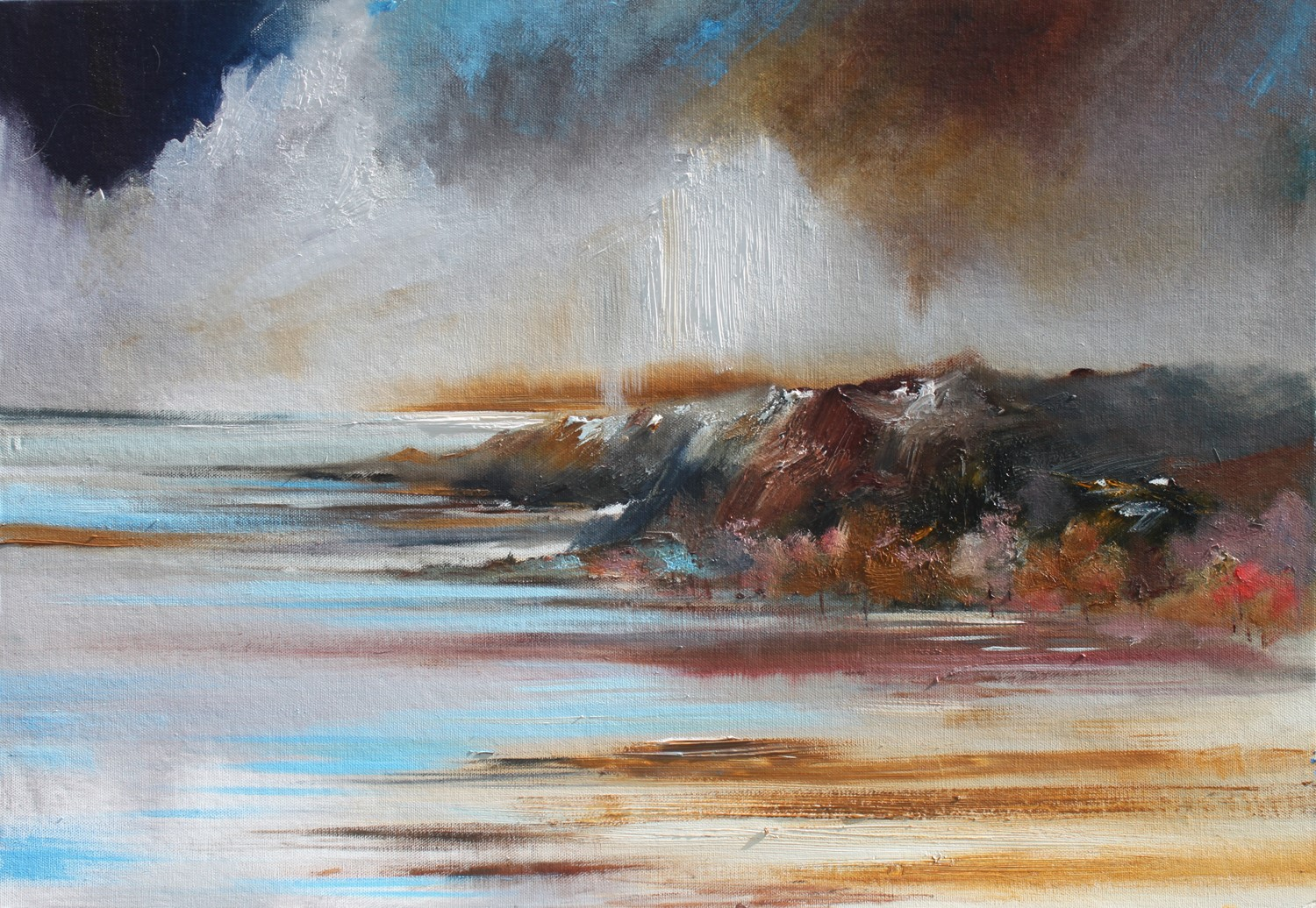 'The Tide is Out' by artist Rosanne Barr