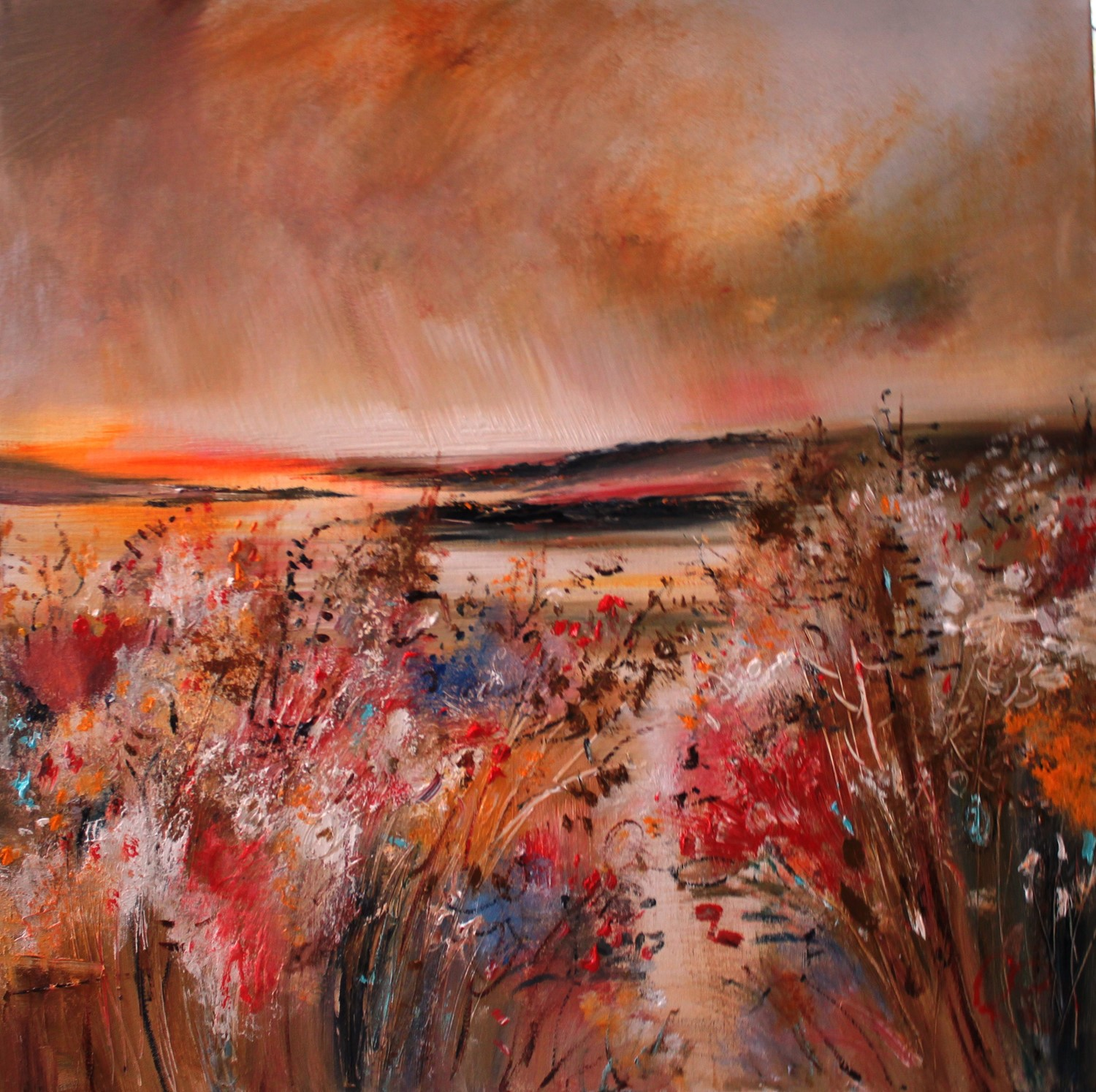'The Lasting Glow of the Sun' by artist Rosanne Barr