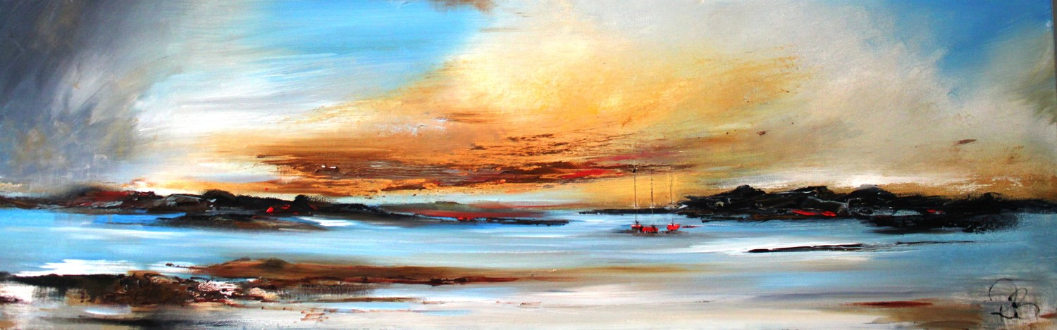 'At the End of the Day ' by artist Rosanne Barr