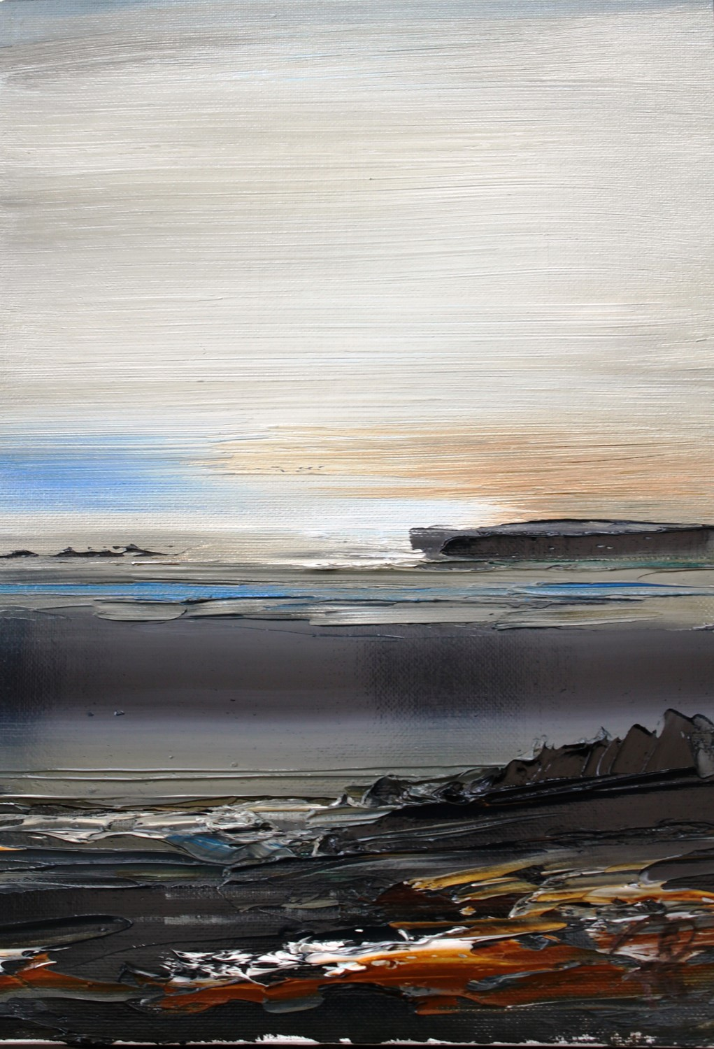 'Evening at the East Coast' by artist Rosanne Barr
