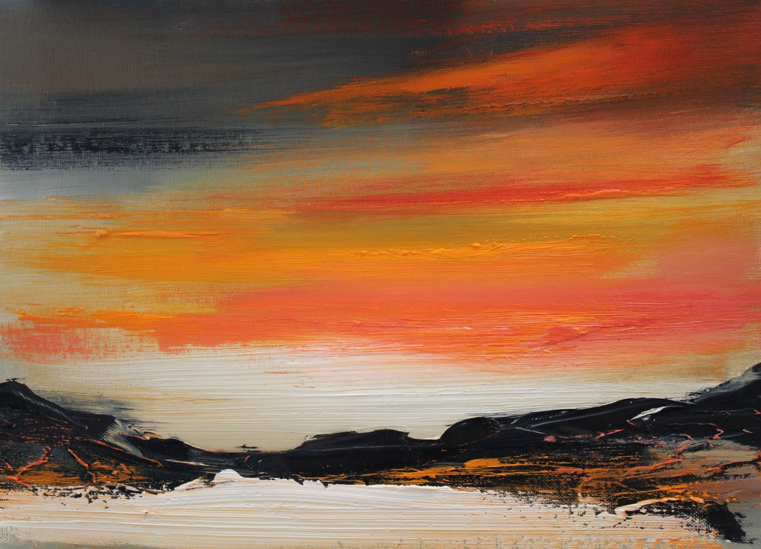 'Illuminated by the Sunset' by artist Rosanne Barr