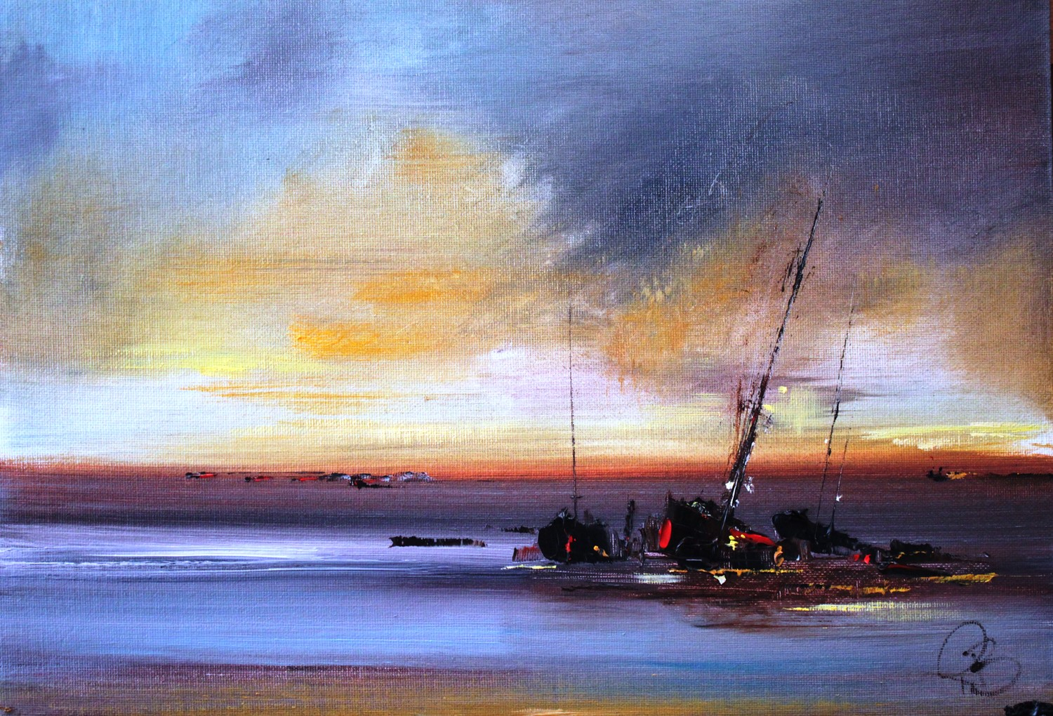 'The Gloaming II' by artist Rosanne Barr
