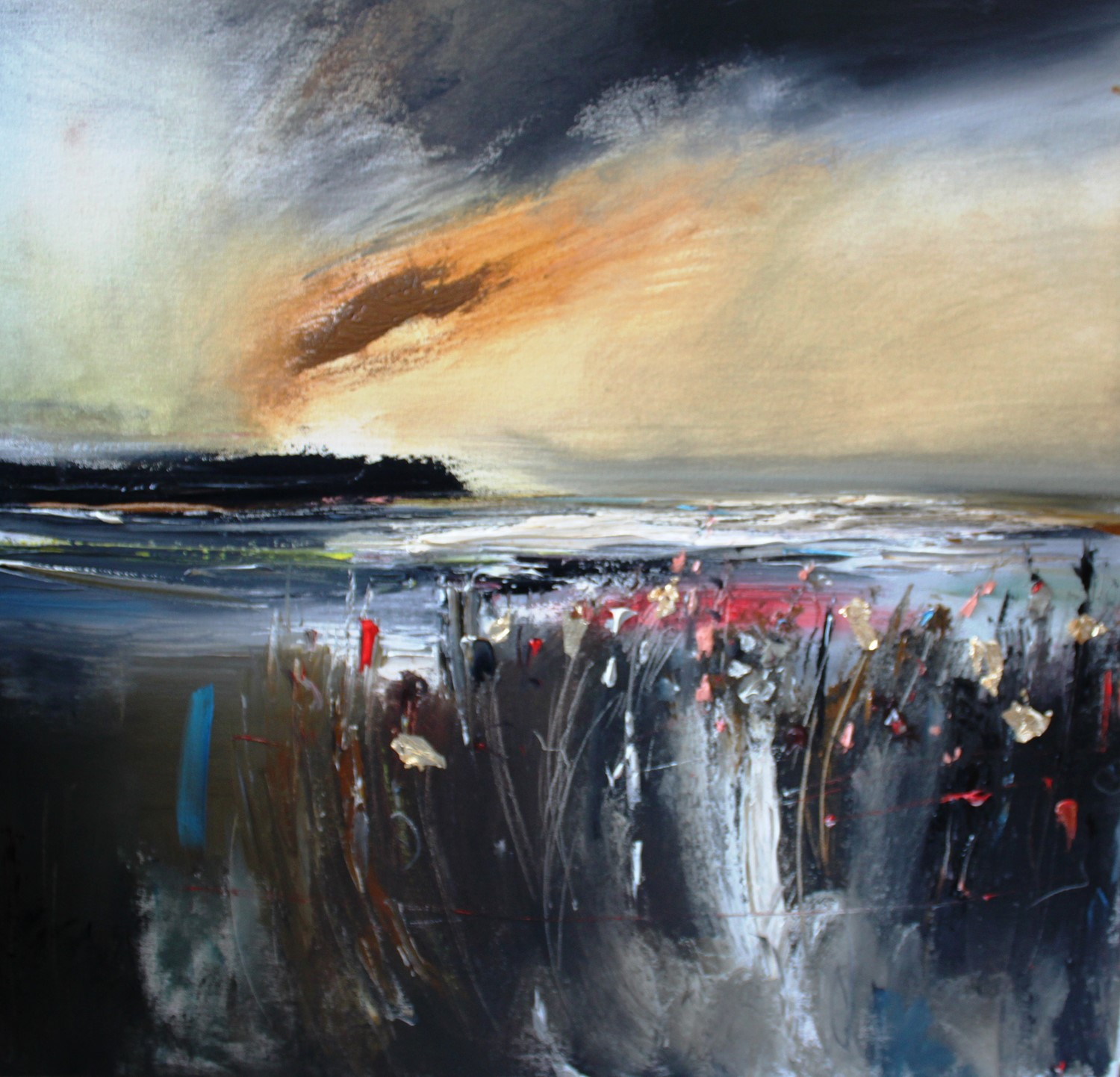 'End of the Storm' by artist Rosanne Barr
