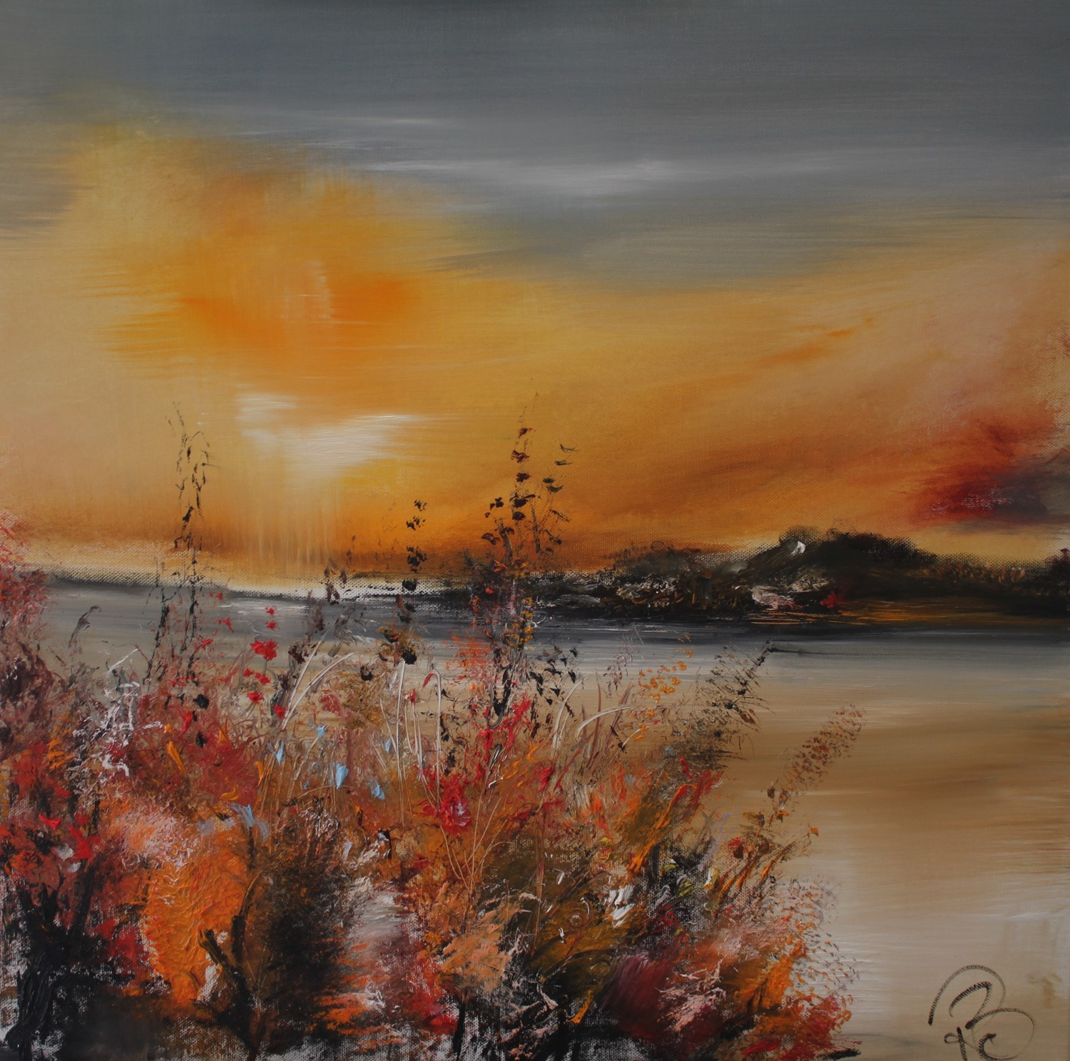 'Autumn is Here' by artist Rosanne Barr