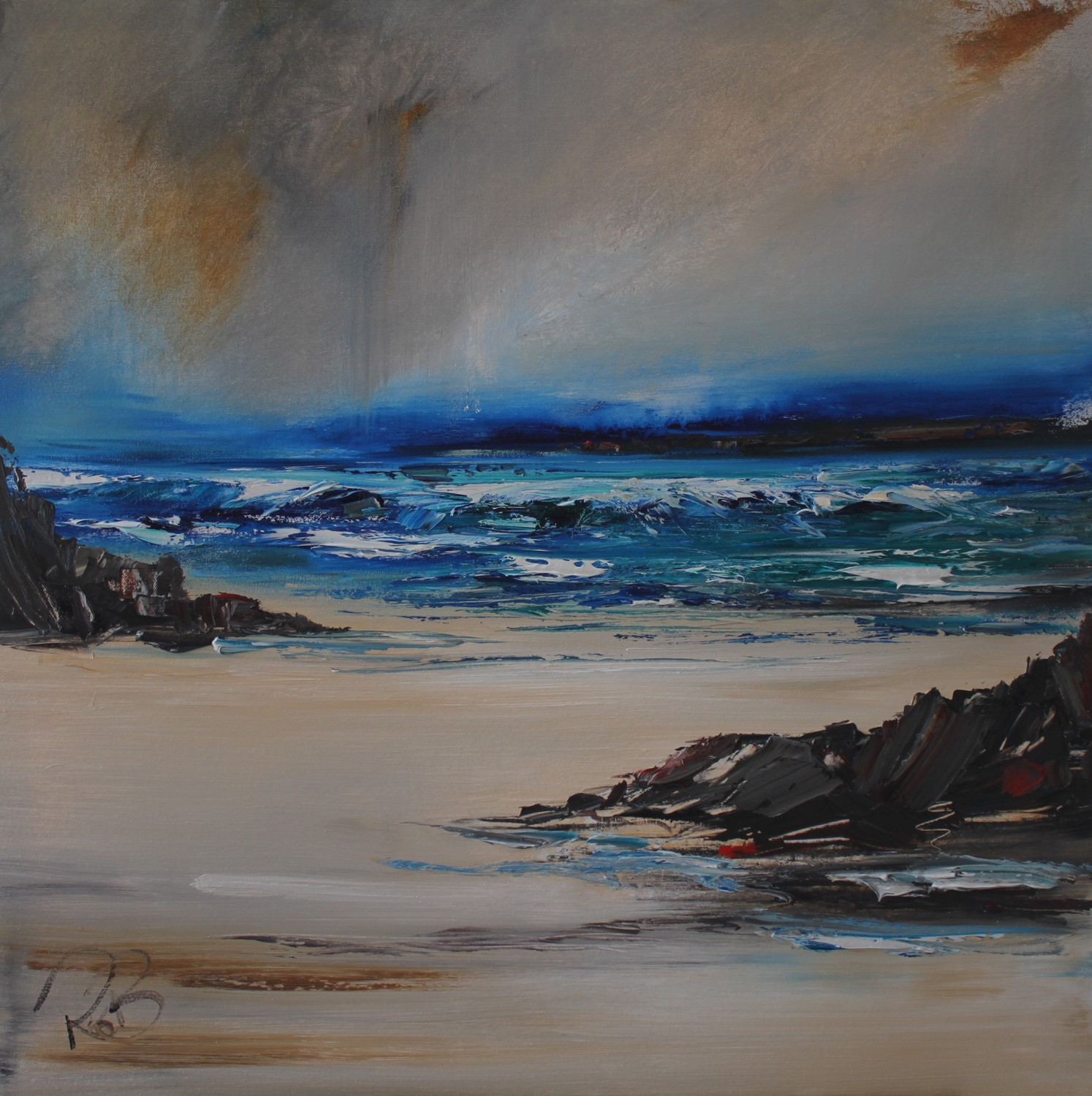 'Dreary Weather' by artist Rosanne Barr