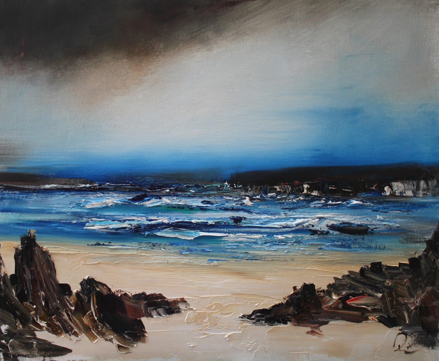 'Turning Tides' by artist Rosanne Barr