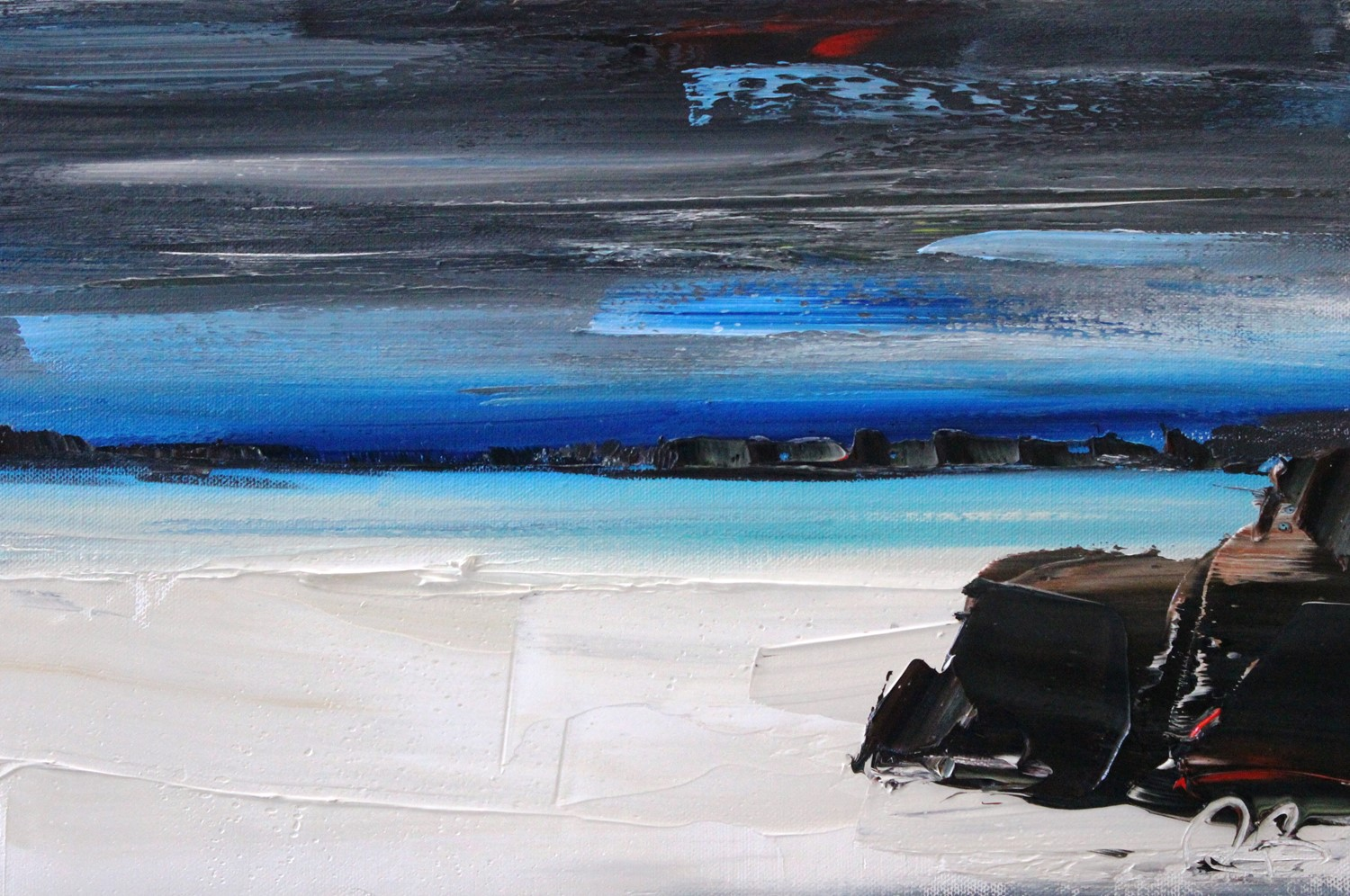 'Silver Sands' by artist Rosanne Barr