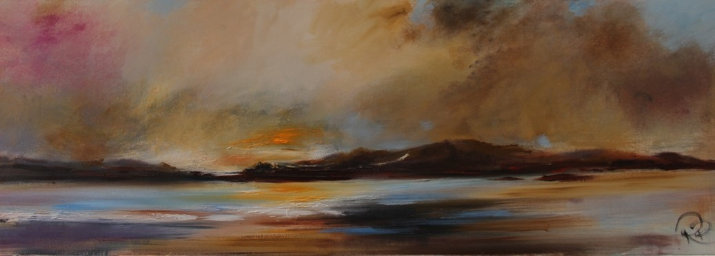 'At the West Coast ' by artist Rosanne Barr