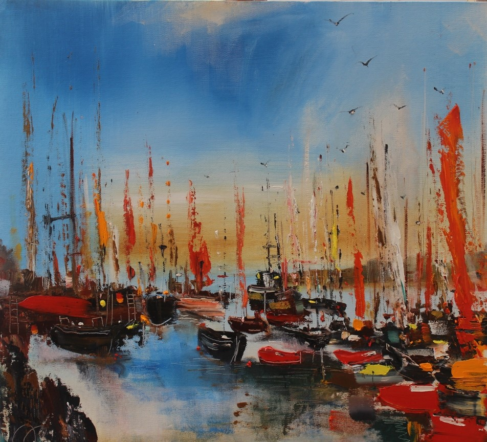 'Ready to Sail' by artist Rosanne Barr