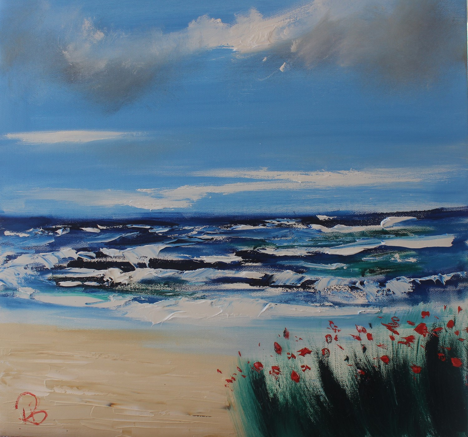 'Bright Sky' by artist Rosanne Barr