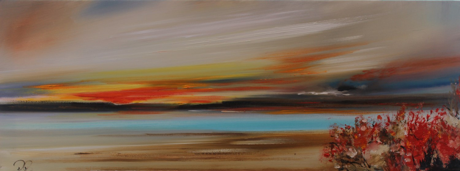 'Shore by Sunset' by artist Rosanne Barr