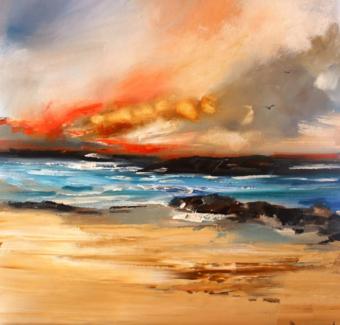 'A Golden Bay' by artist Rosanne Barr