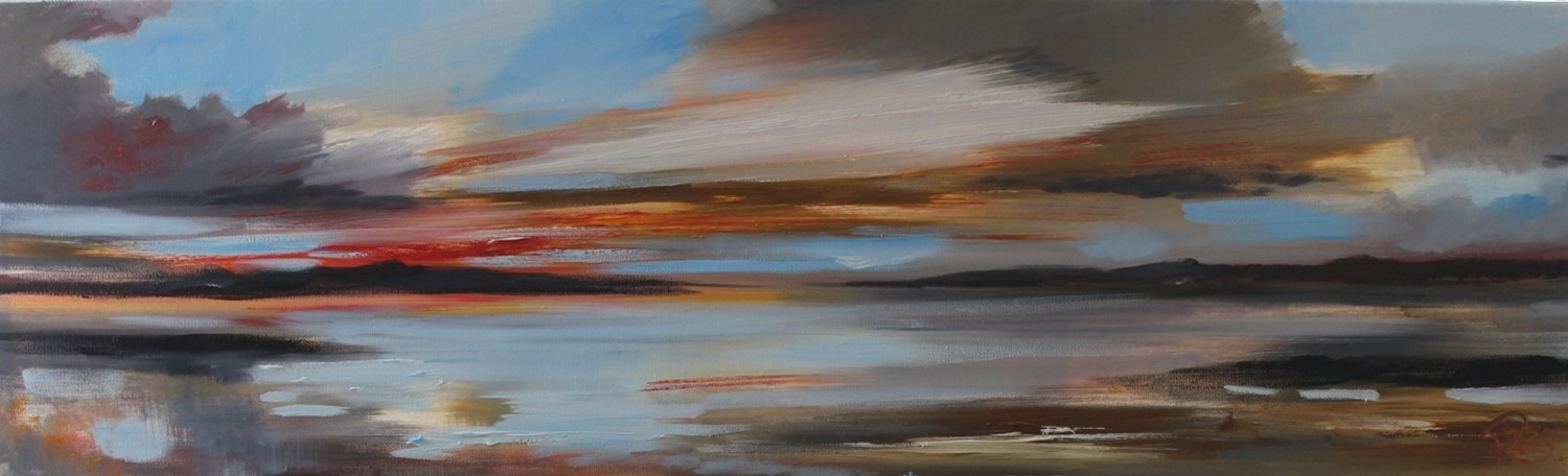 'Sunset Out West ' by artist Rosanne Barr
