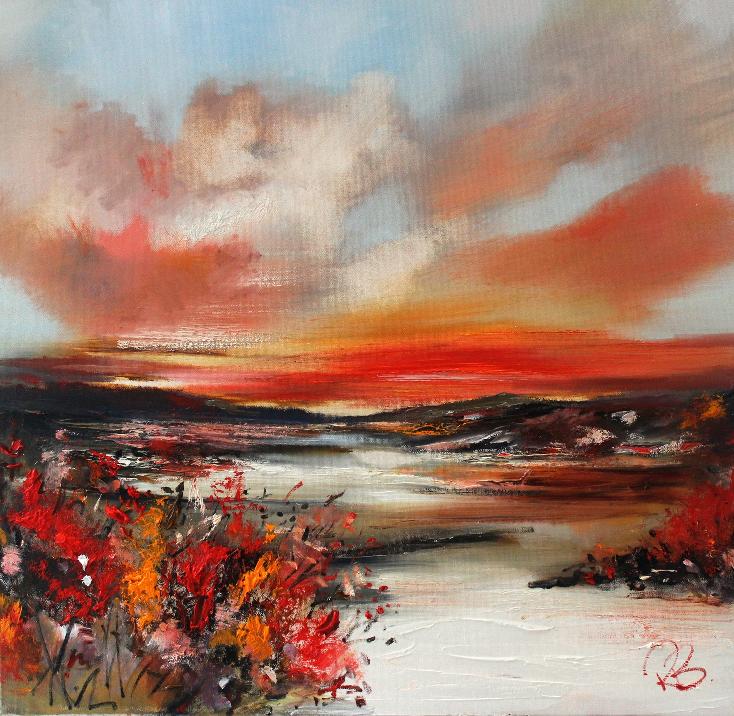 'Mid Autumn' by artist Rosanne Barr