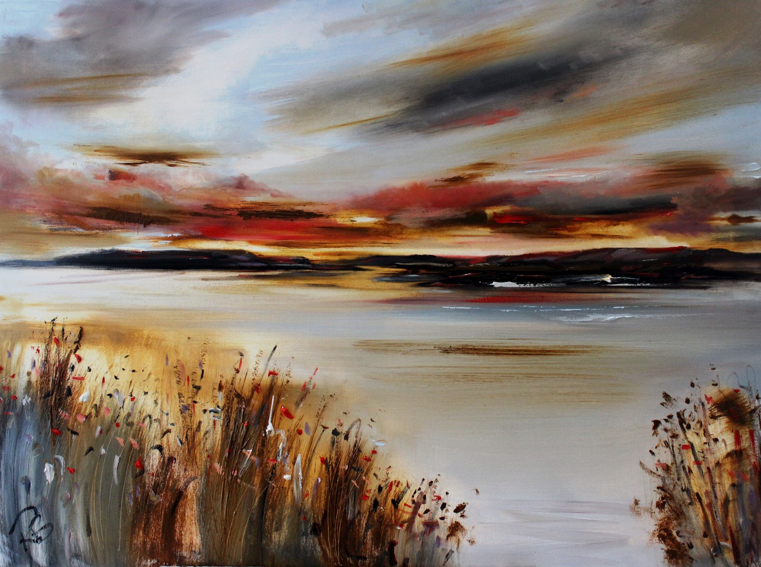 'A Glow over the Isles' by artist Rosanne Barr