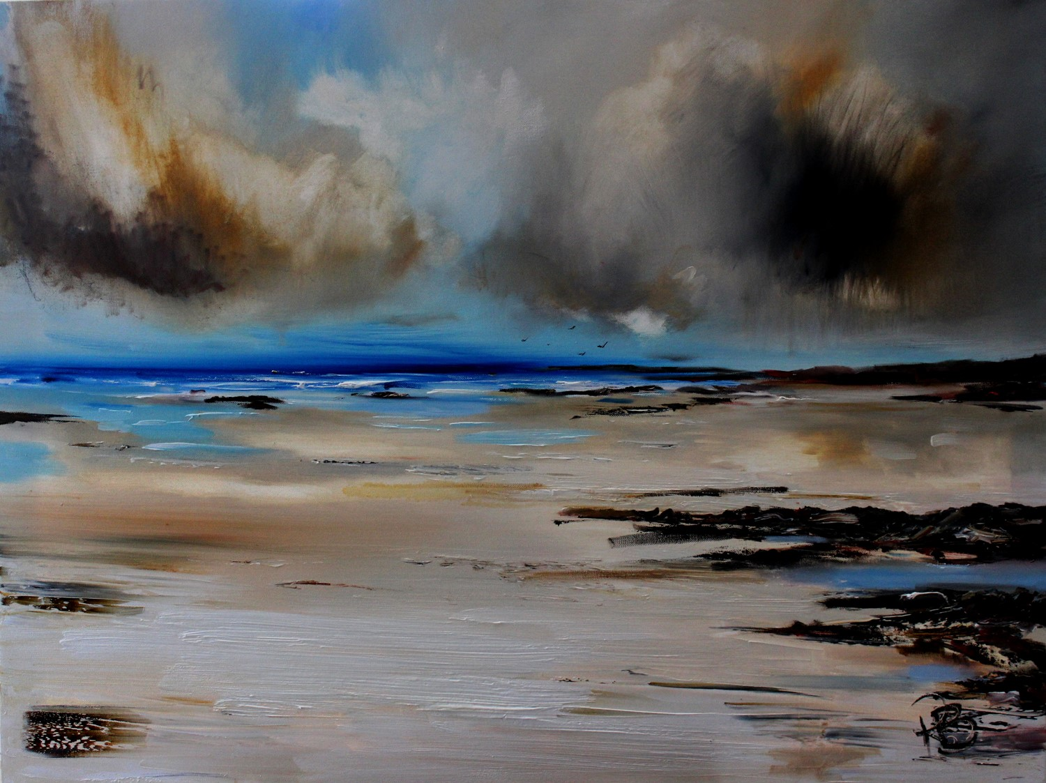 'Ominous Clouds' by artist Rosanne Barr