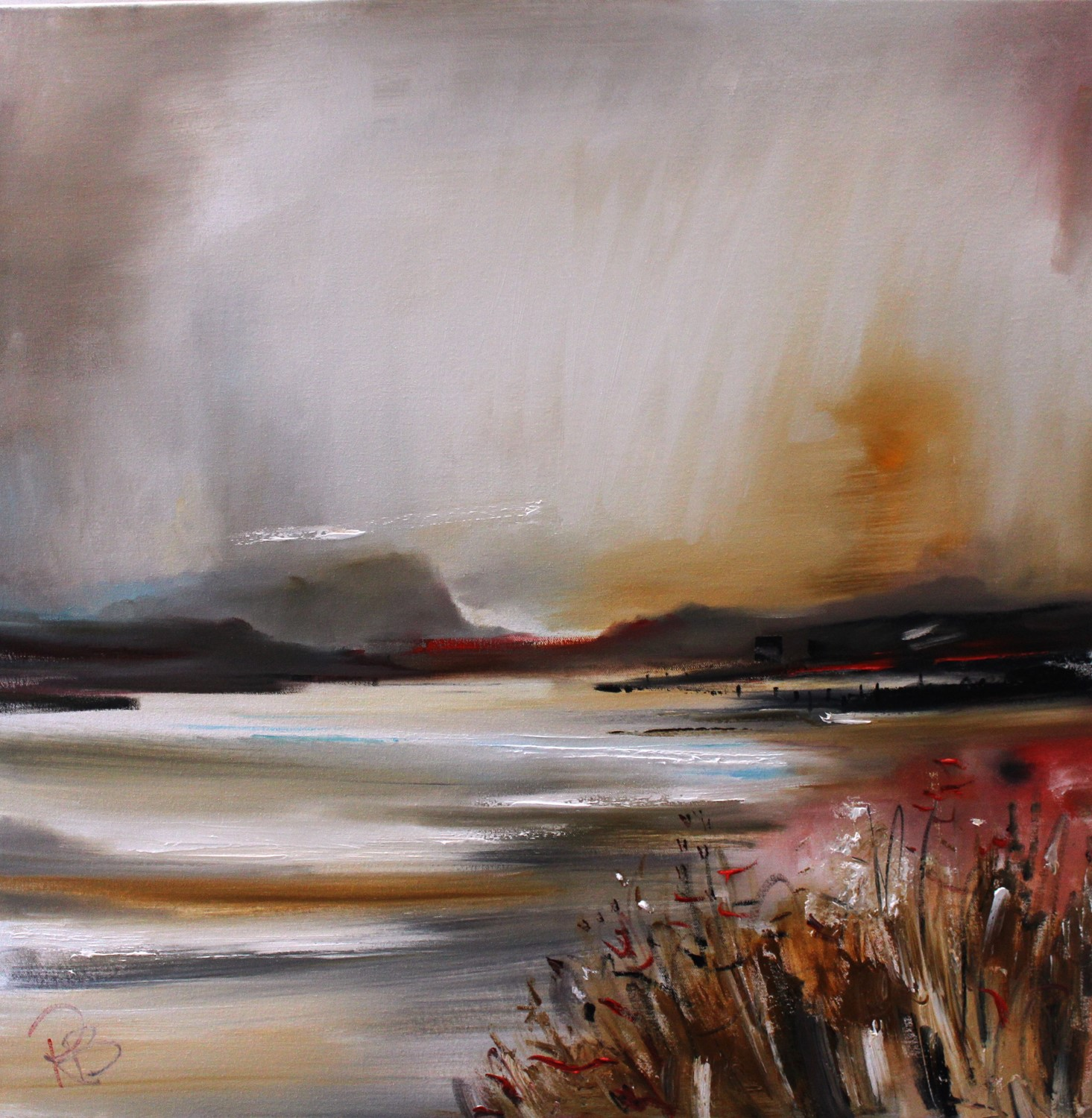 'Mist over the Headland' by artist Rosanne Barr