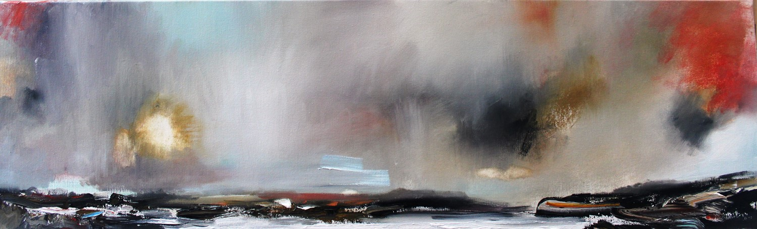 'A Scottish Sky ' by artist Rosanne Barr