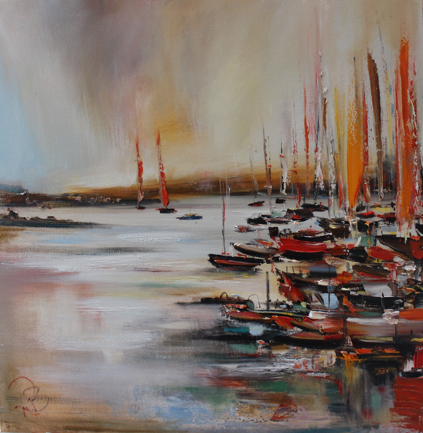 'At the Quay' by artist Rosanne Barr