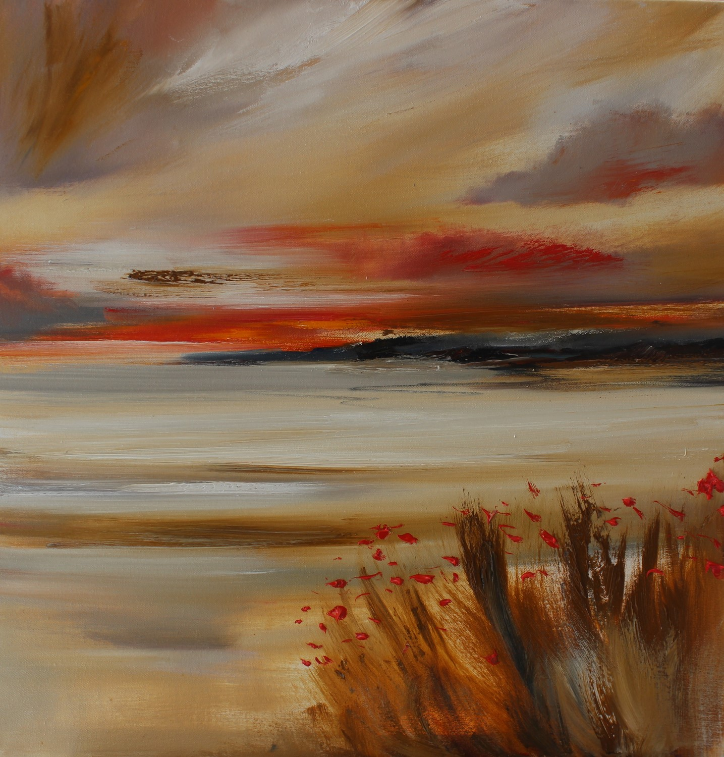 'Distant Tide' by artist Rosanne Barr
