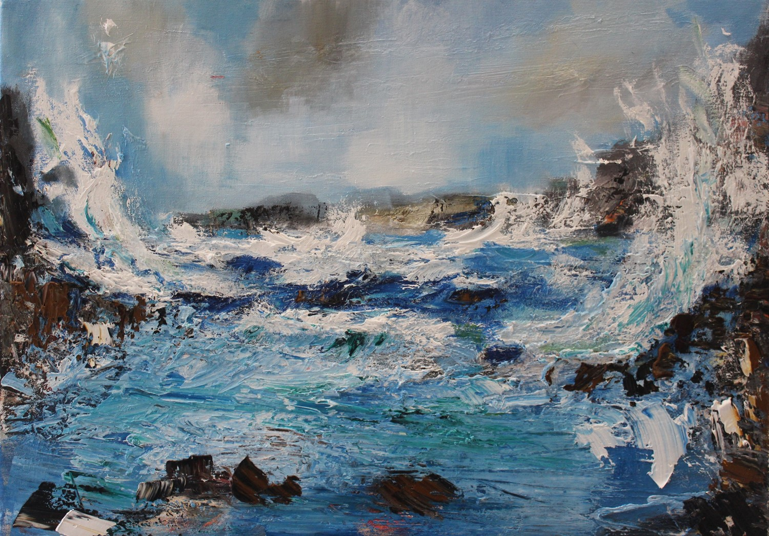 'It's Blowing a Gale' by artist Rosanne Barr