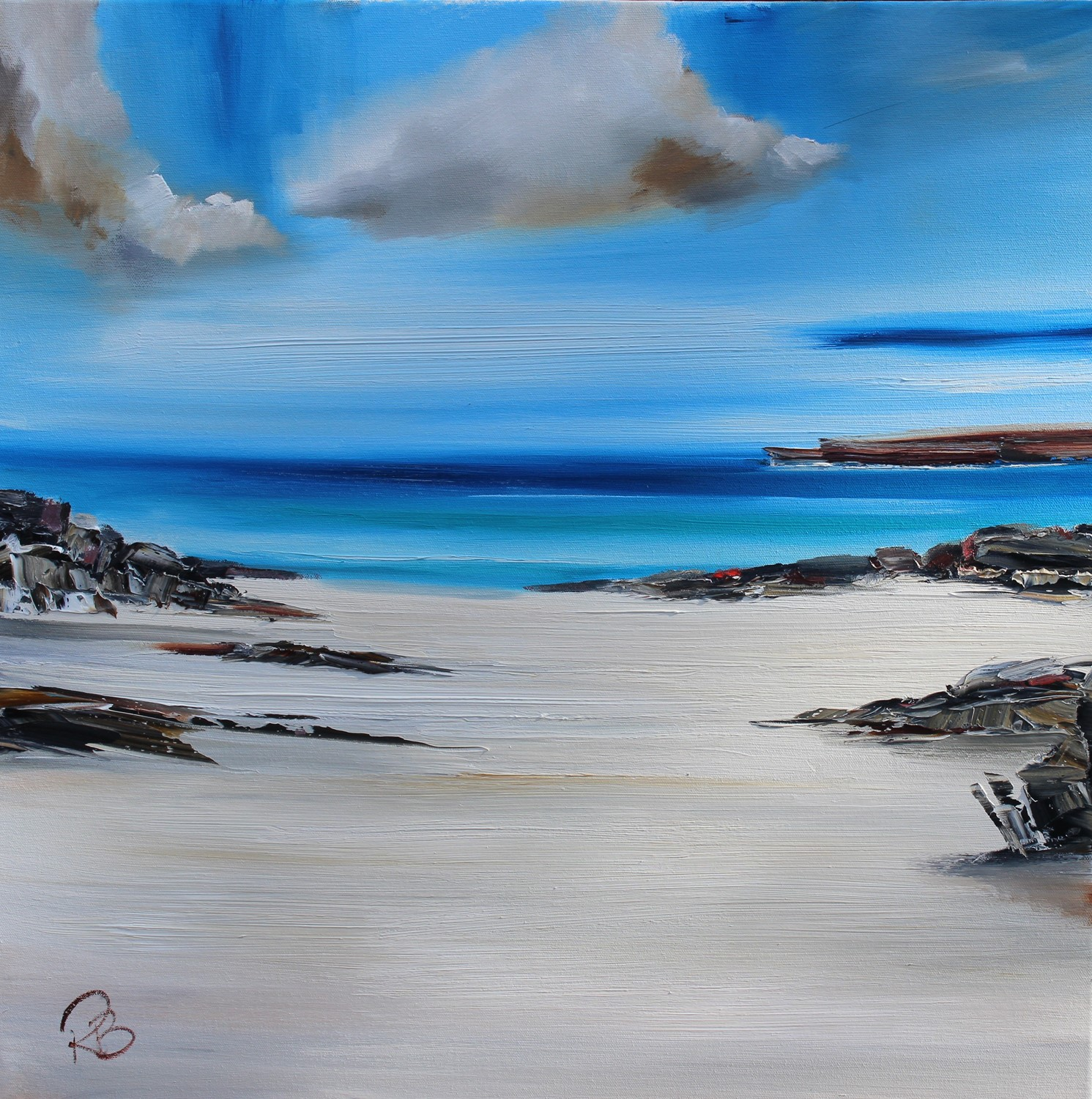 'Beached for the Day' by artist Rosanne Barr