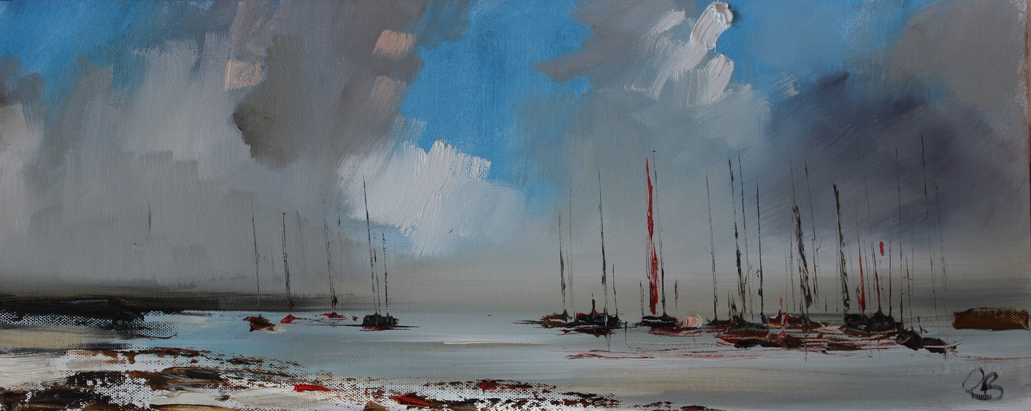 'Boats and Blue Skies' by artist Rosanne Barr