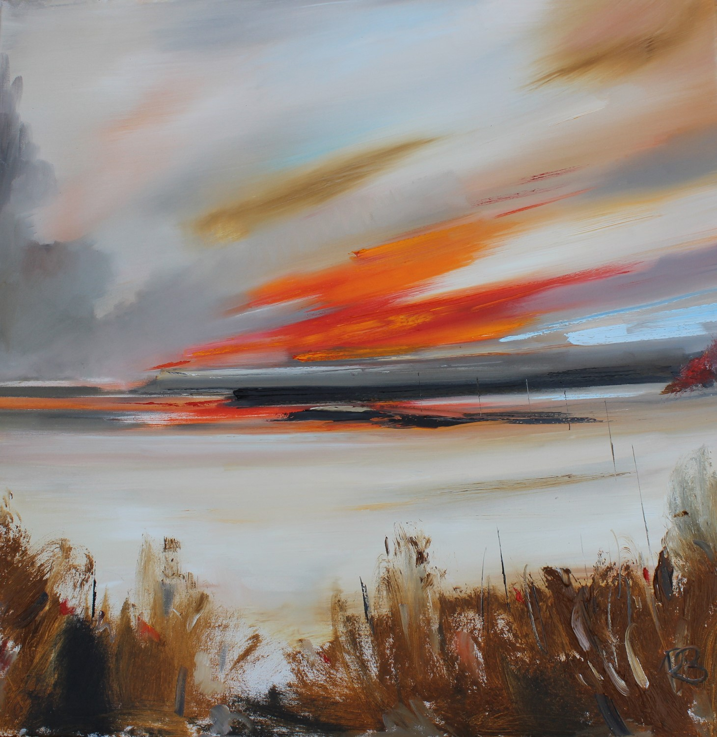 'Headed towards the Bay' by artist Rosanne Barr