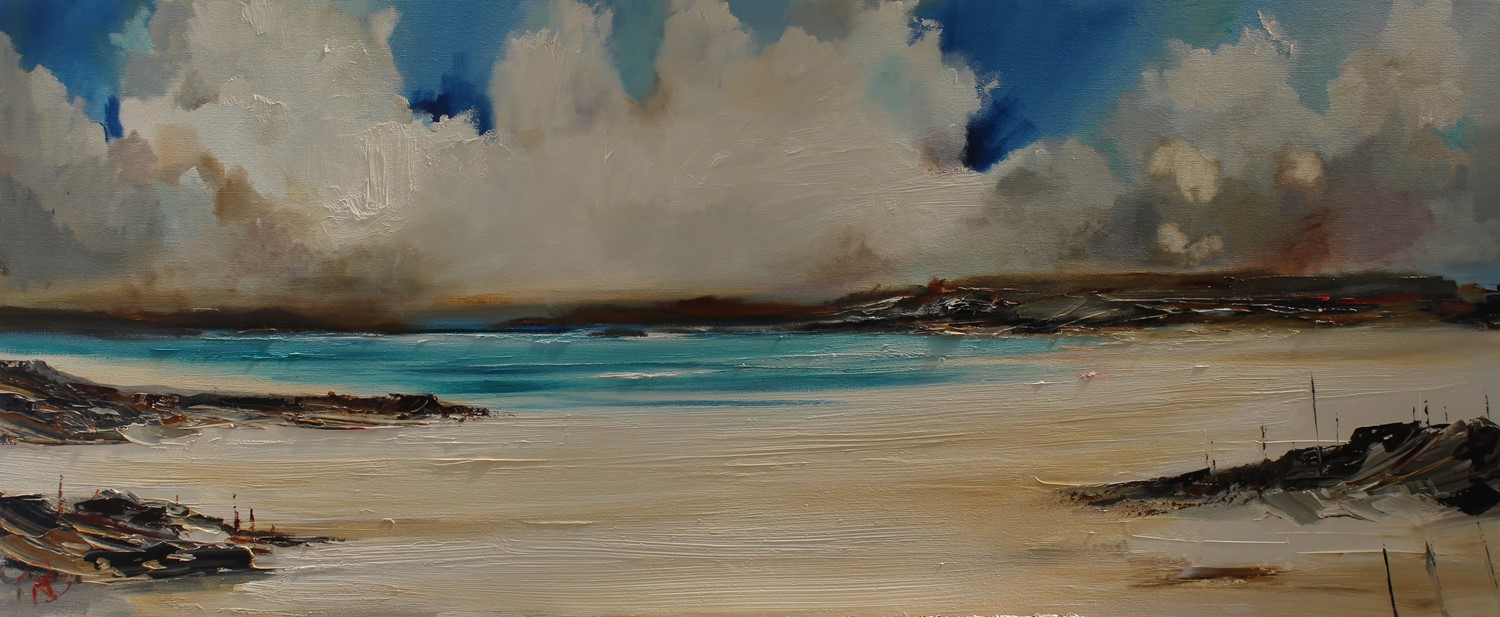 'Big Clouds over the Bay' by artist Rosanne Barr