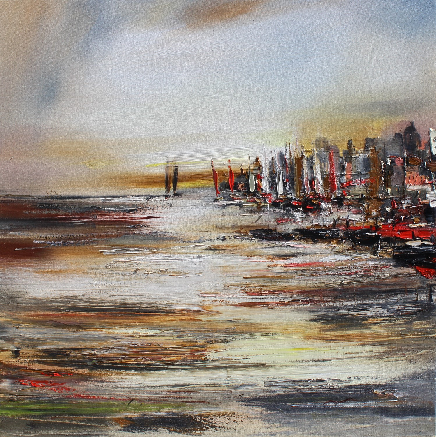 'Out by The East Coast' by artist Rosanne Barr