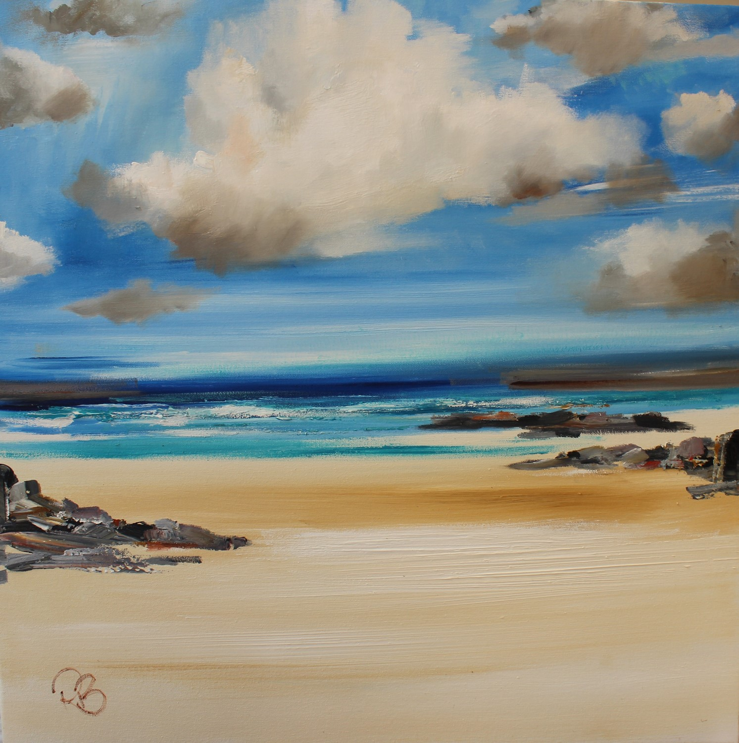'A Peaceful Bay ' by artist Rosanne Barr