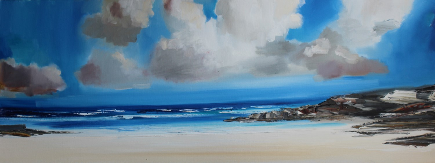 'A Secret Bay on the West Coast' by artist Rosanne Barr