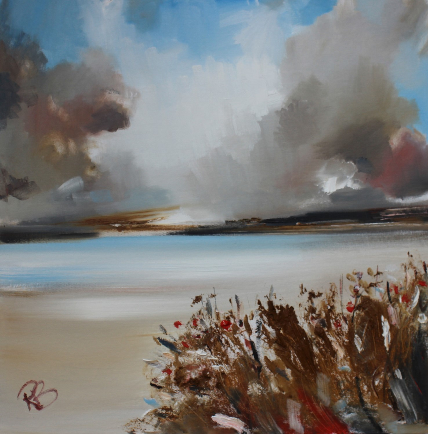'Brighter Weather' by artist Rosanne Barr