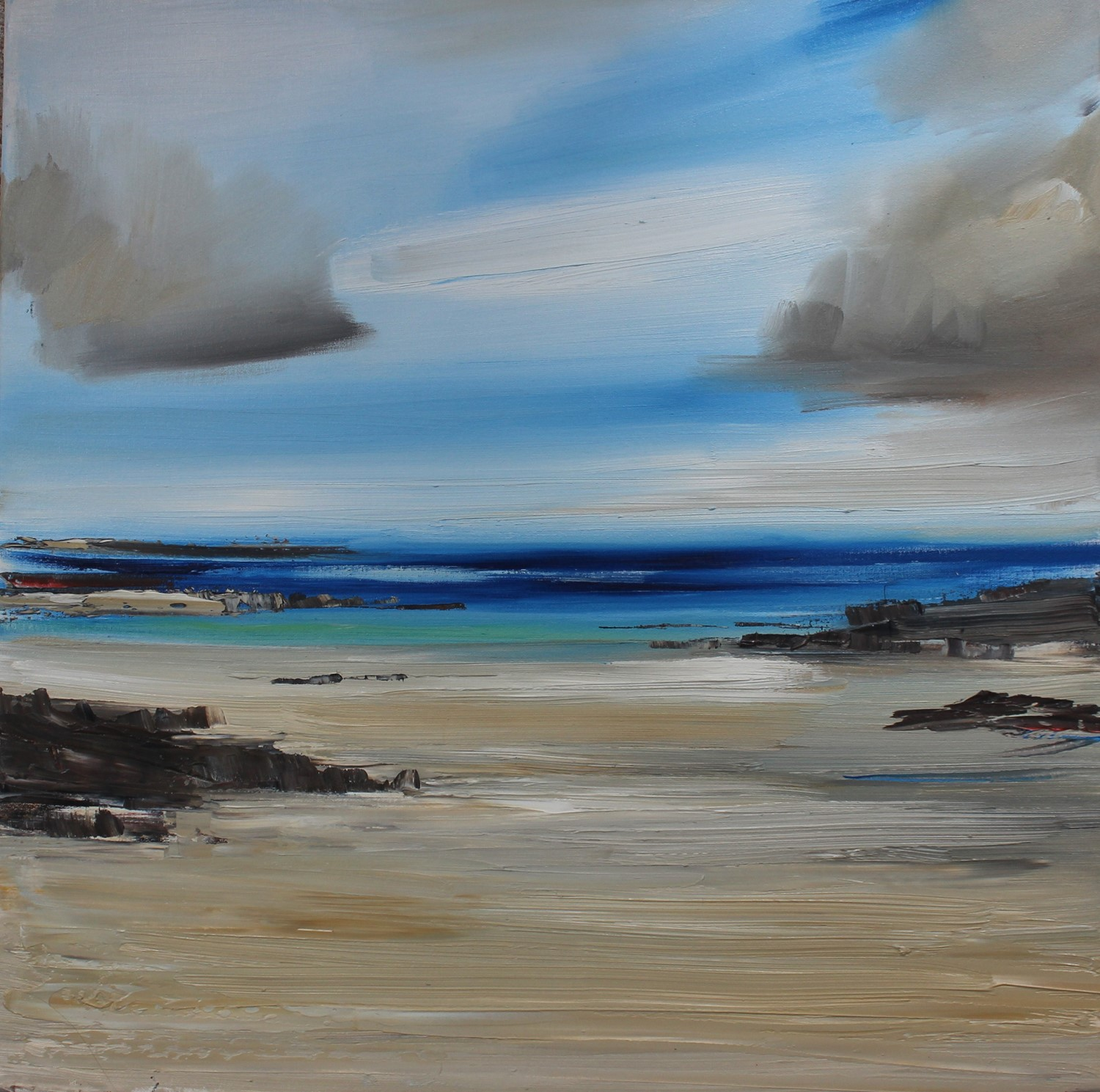 'The Silvery Sands' by artist Rosanne Barr