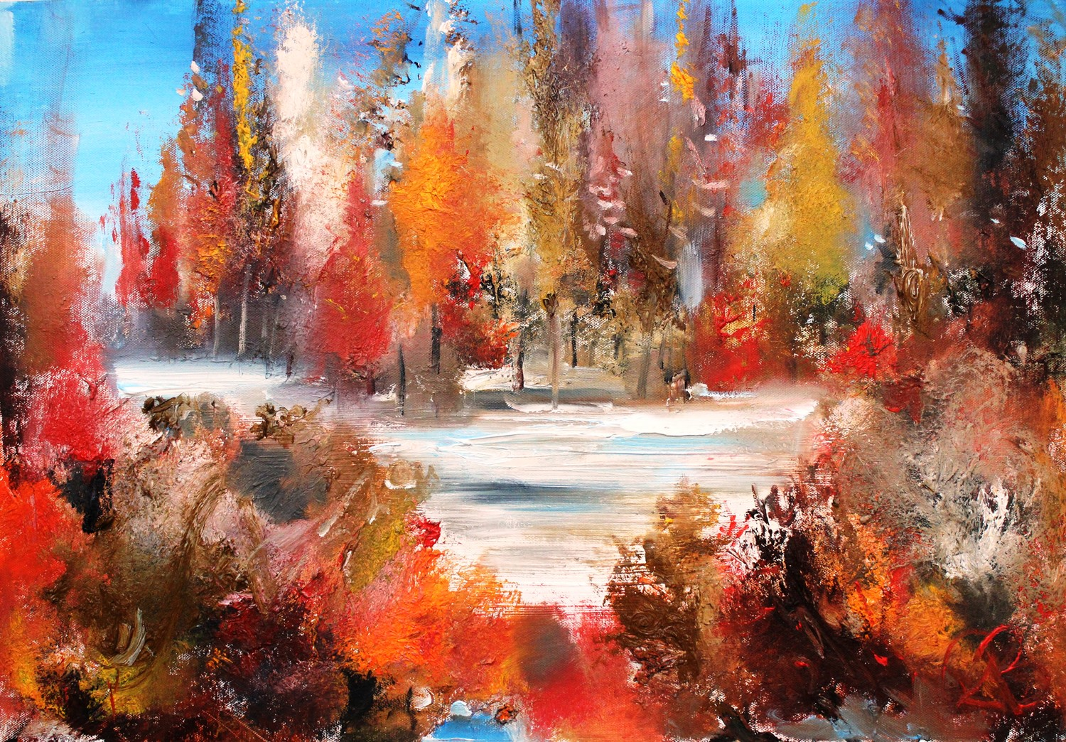 'Autumn Colour' by artist Rosanne Barr