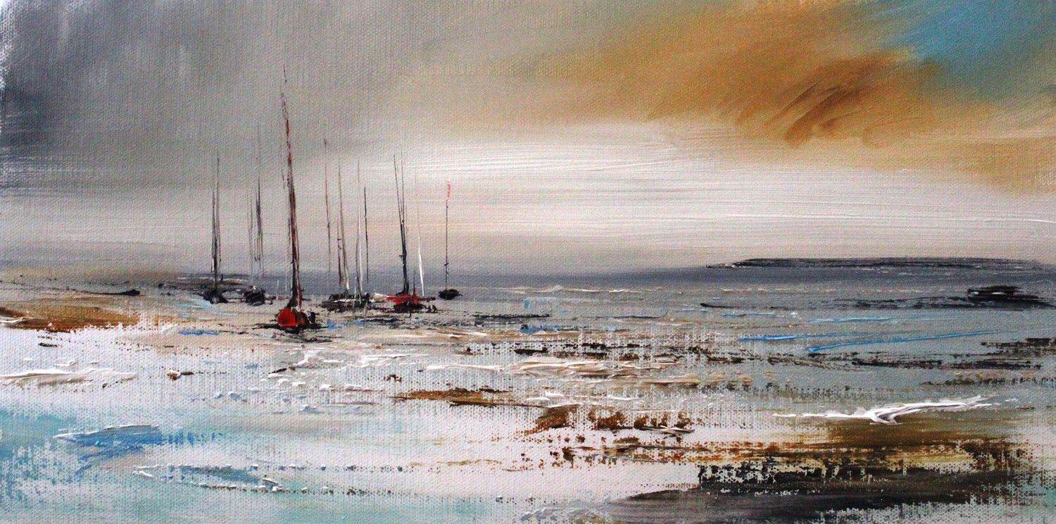 'Between Showers' by artist Rosanne Barr
