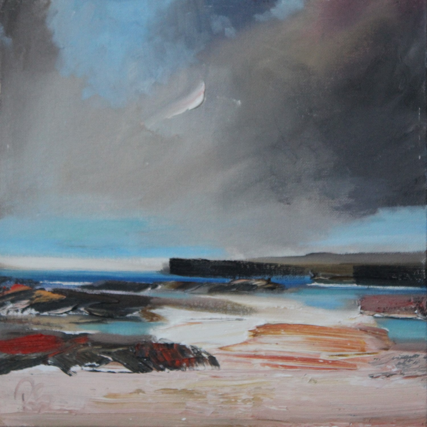 'Heading to the Rock Pools' by artist Rosanne Barr