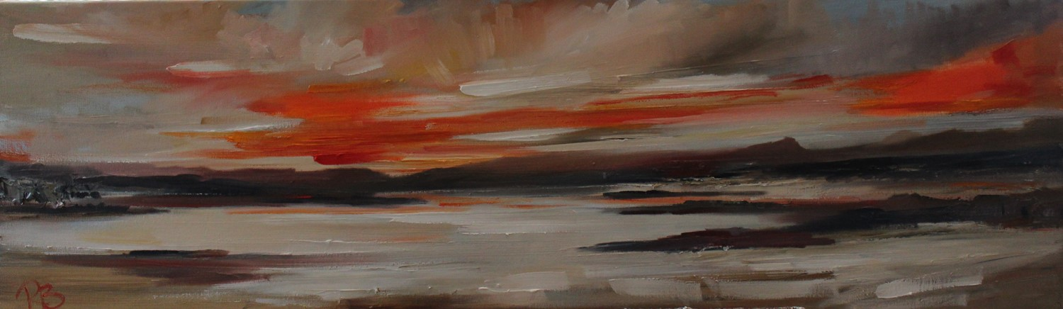 'Overlooking the Isles' by artist Rosanne Barr