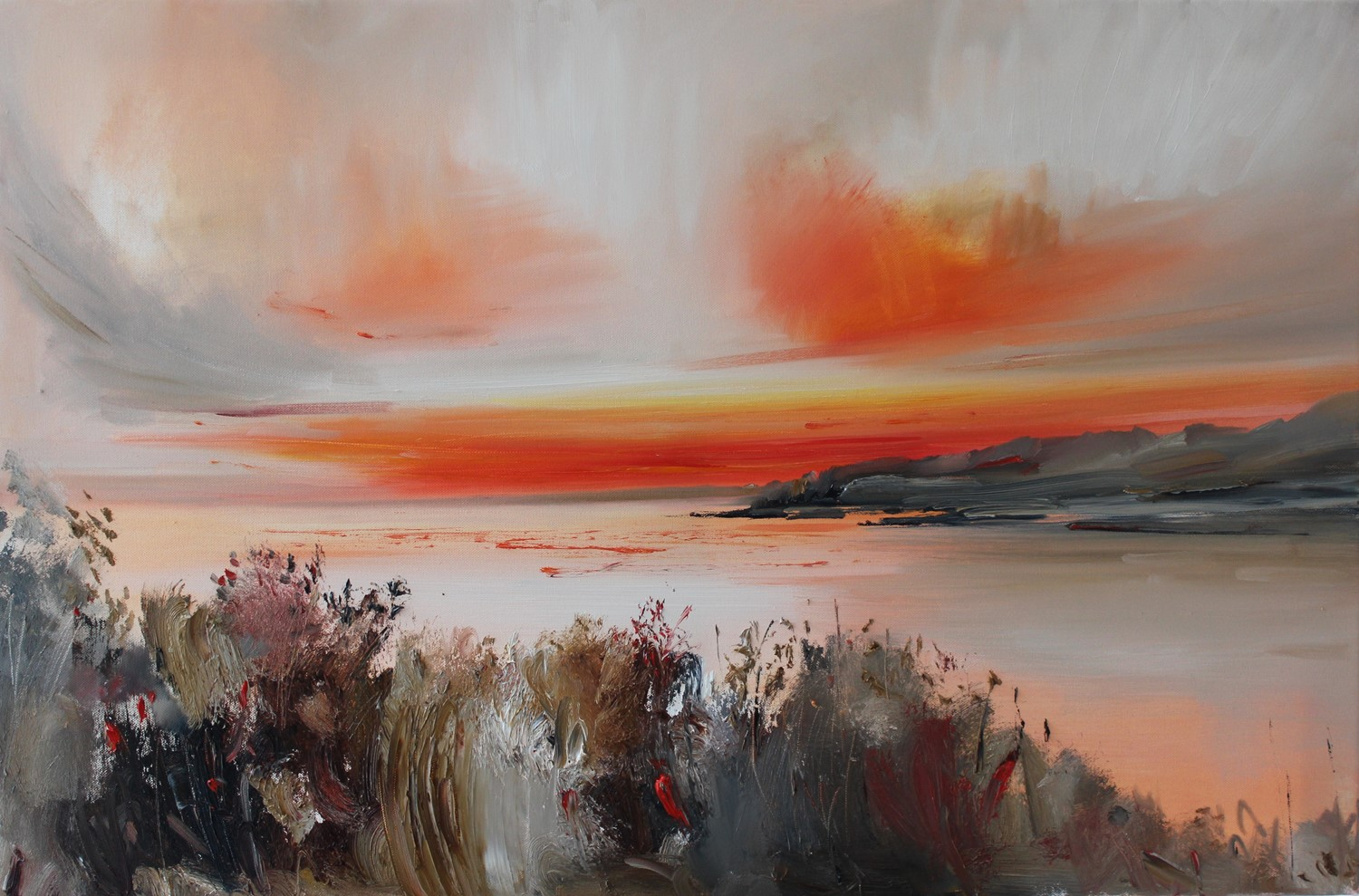 'Last warmth in Autumn' by artist Rosanne Barr