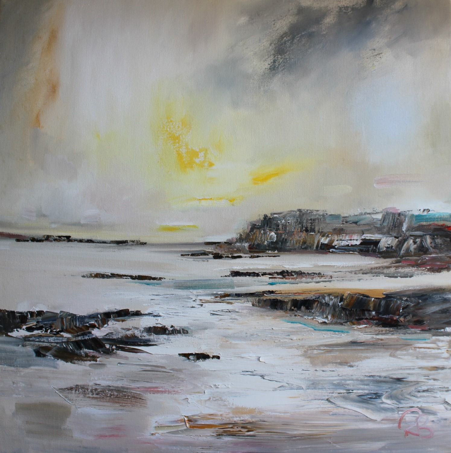 'A Tidal River on the West Coast' by artist Rosanne Barr