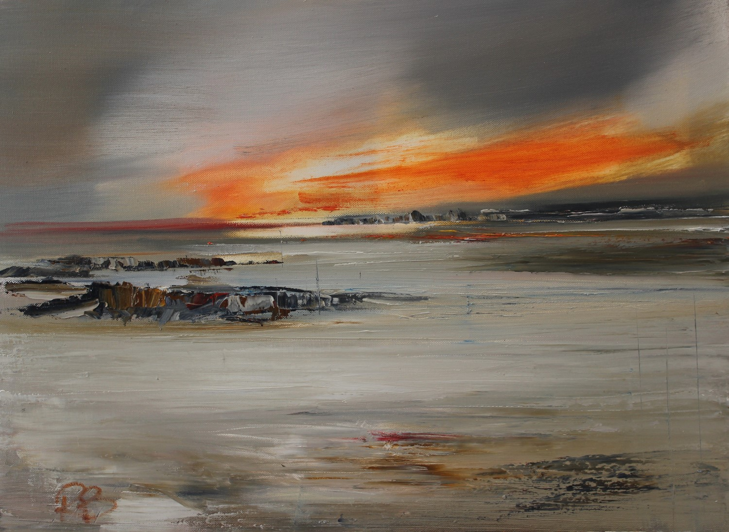 'Time and Tide' by artist Rosanne Barr