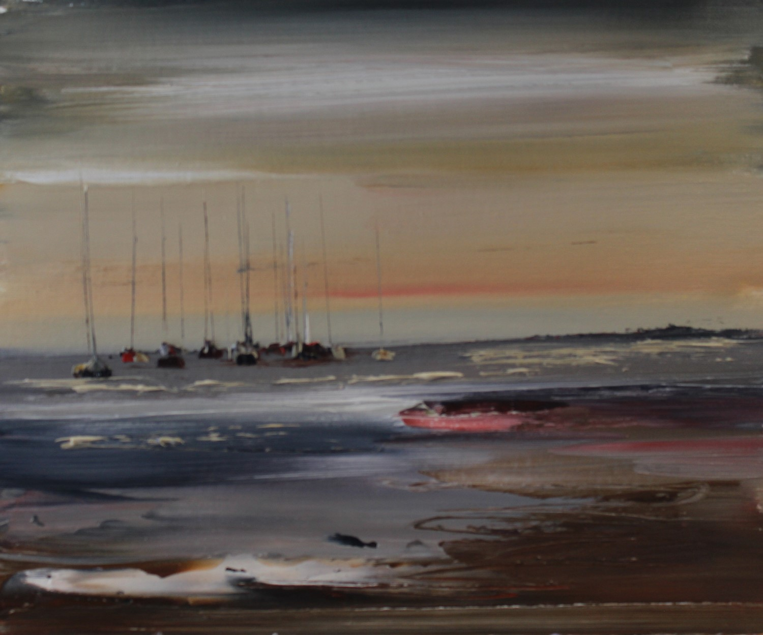 'Just After the Sunsets' by artist Rosanne Barr