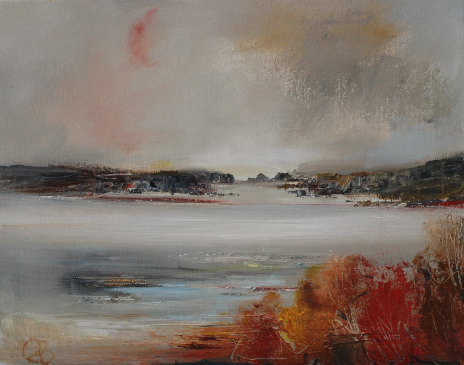'With An Autumnal Feel' by artist Rosanne Barr
