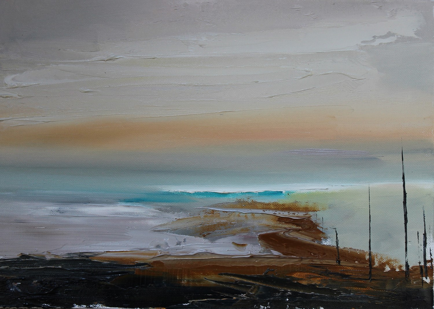 'On the Low Road to the Sea' by artist Rosanne Barr