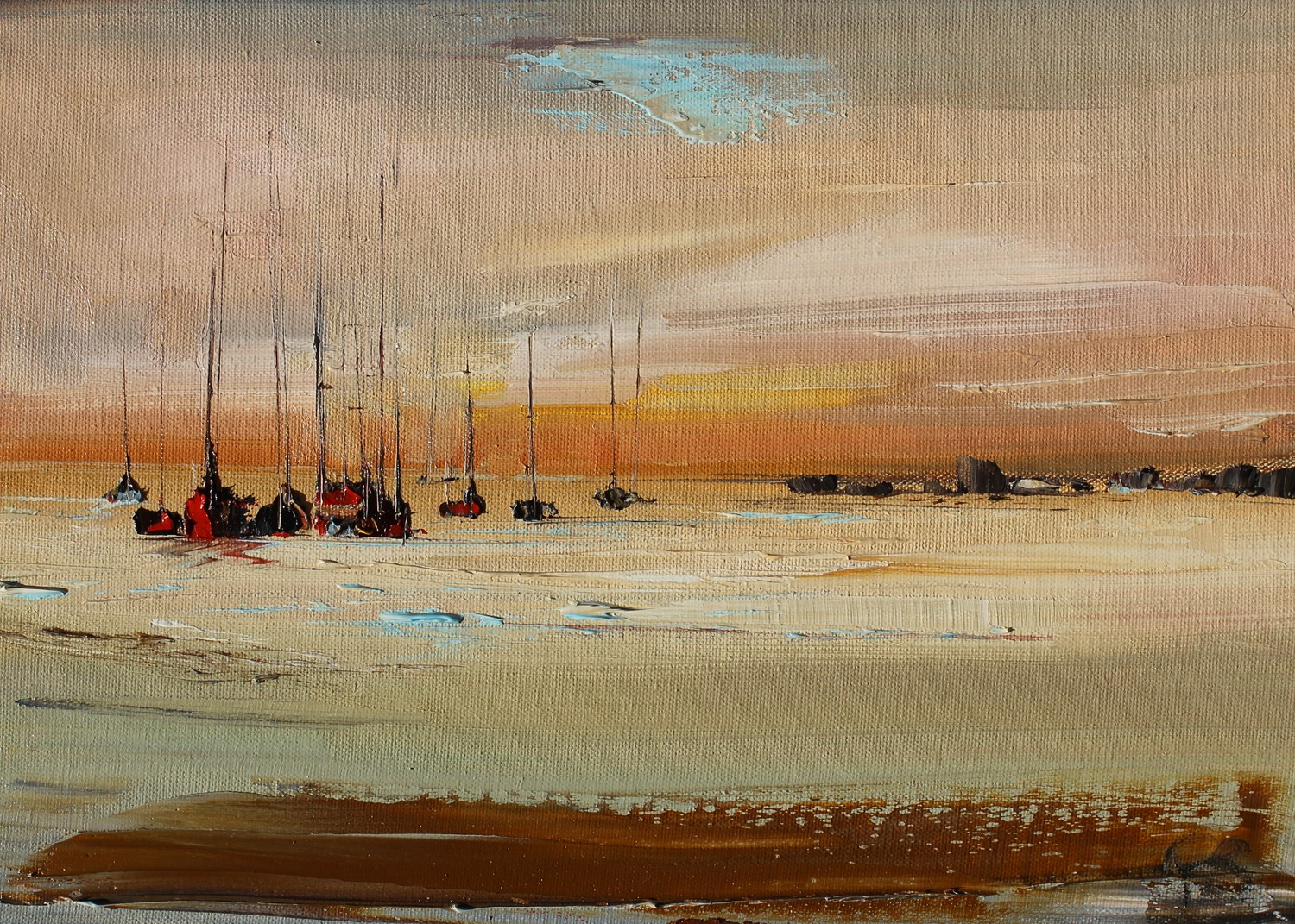 'From The Shore' by artist Rosanne Barr