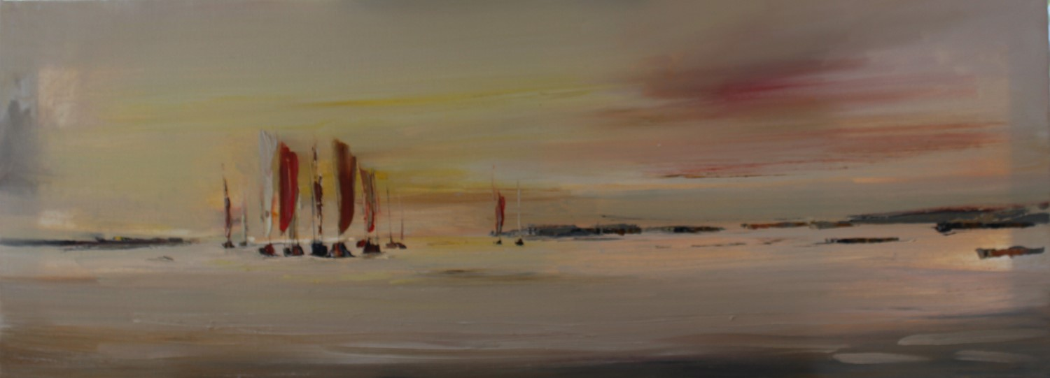 'Late Summer Night Sailing' by artist Rosanne Barr