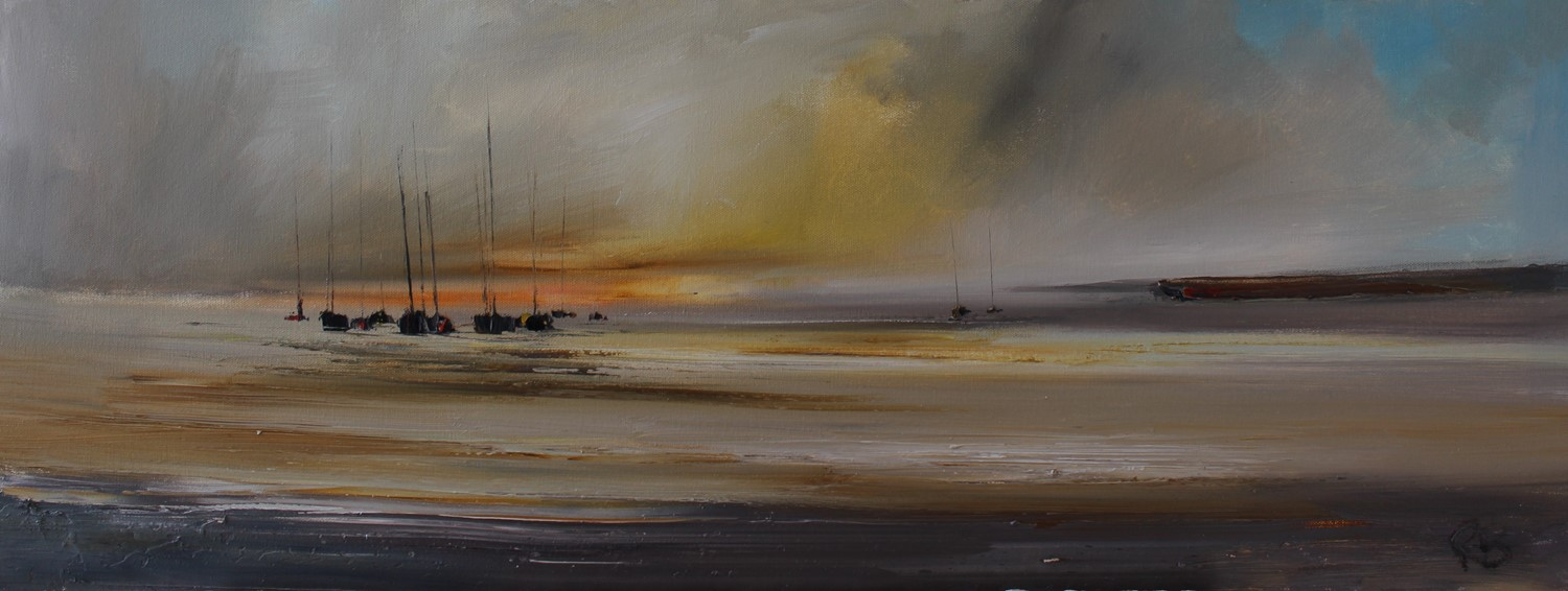 'Over Still Waters' by artist Rosanne Barr