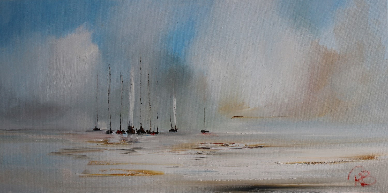 'In Between some sunshine and showers' by artist Rosanne Barr