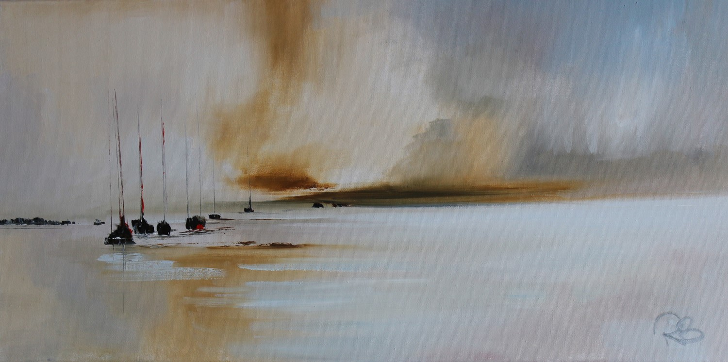 'Gloomy out to Sea ' by artist Rosanne Barr
